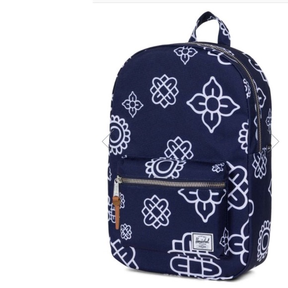 5b8795866e6 Herschel Supply Co. Peacoat Paisley Mid Backpack